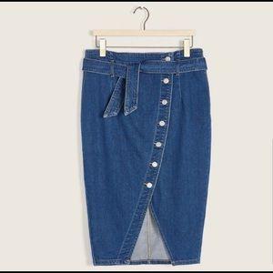Jeans pencil skirt Additonelle